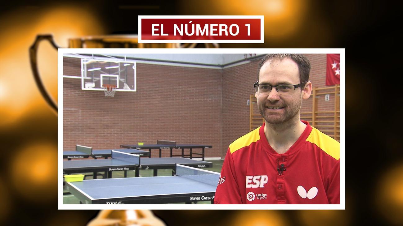 Eduardo Cuesta lo gana todo en tenis de mesa paralímpico