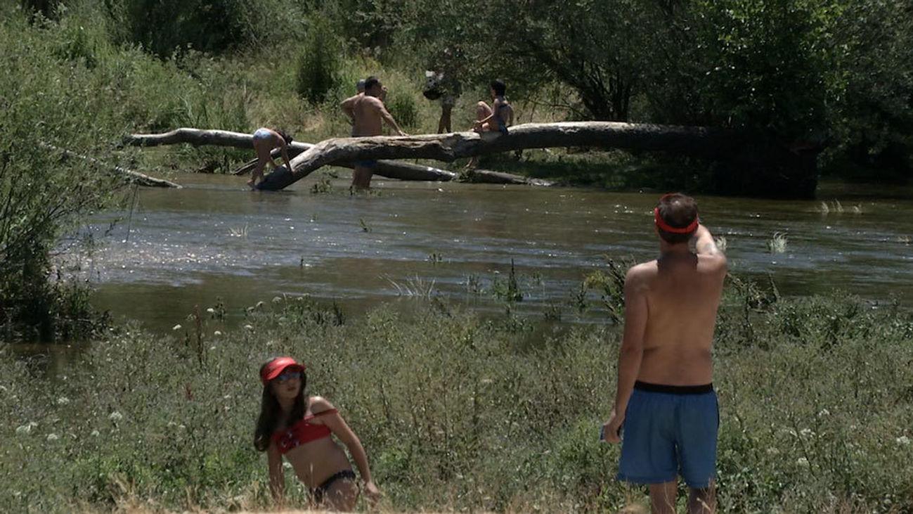 Un día de río en Aldea del Fresno