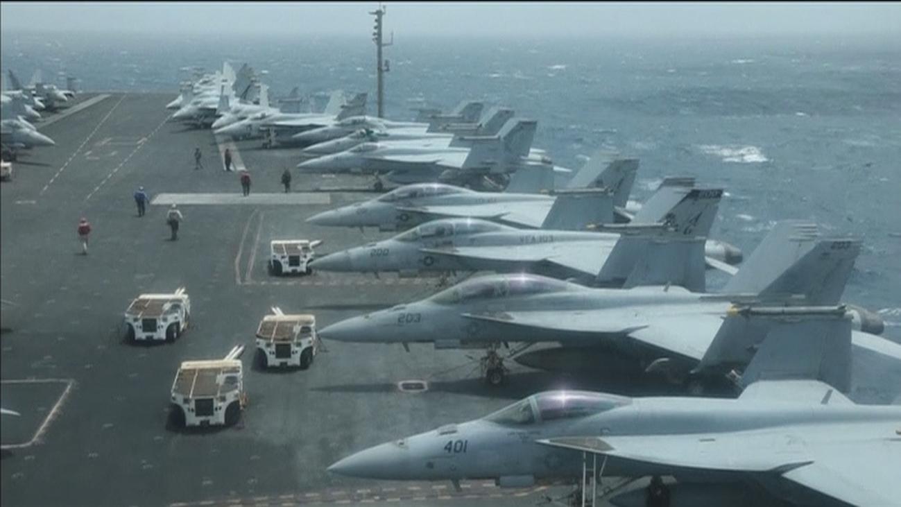 Irán y EEUU miden sus fuerzas en Ormuz tras el supuesto derribo de un dron