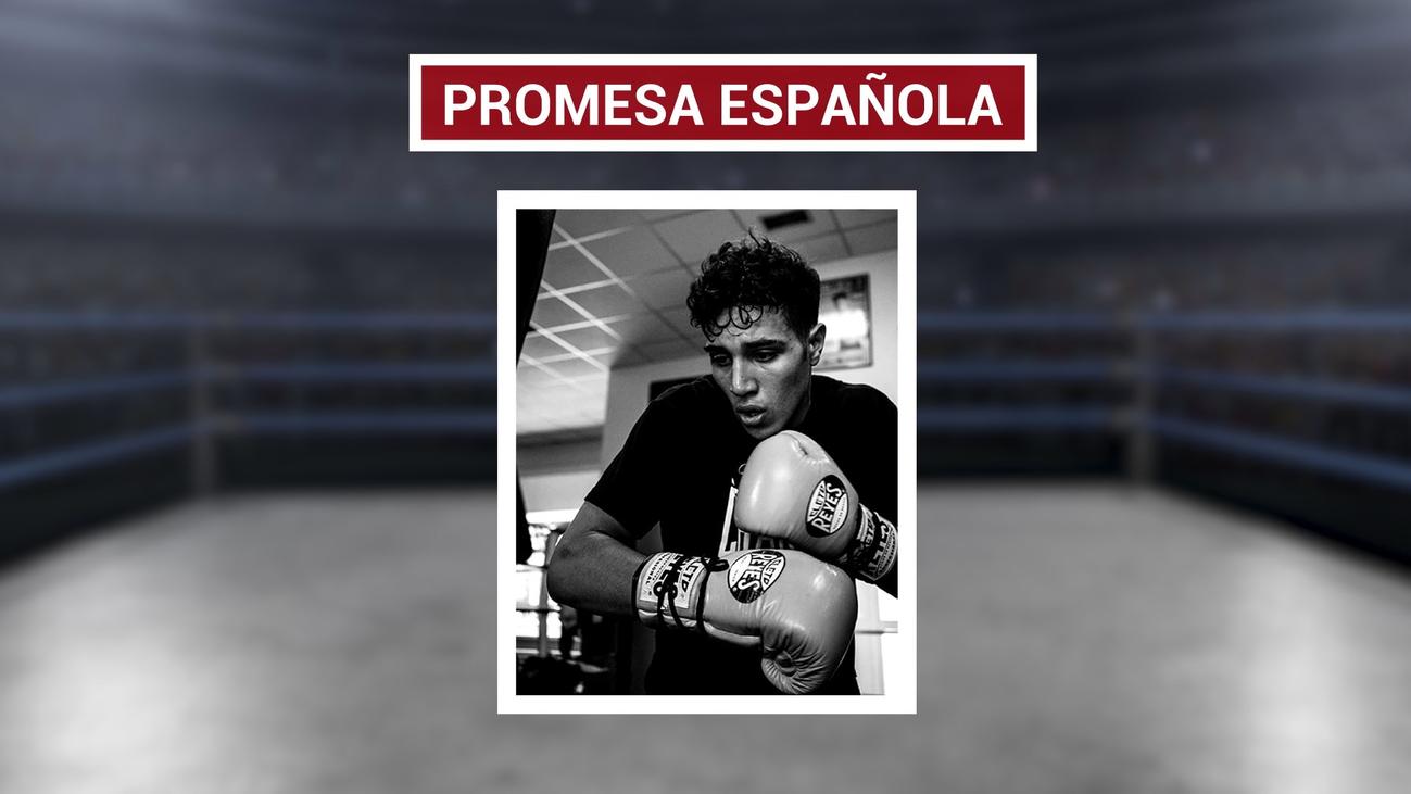 Amin Hachimi, la promesa del boxeo madrileño