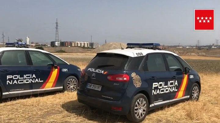 Hallan el cadaver de una mujer de 77 años en una zona de campo de Getafe