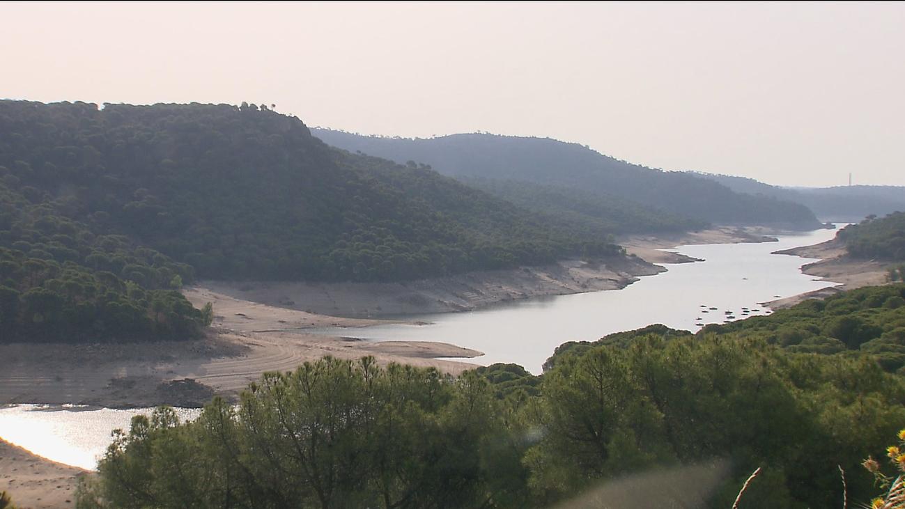 El pantano de San Juan se encuentra a un 31% de su capacidad