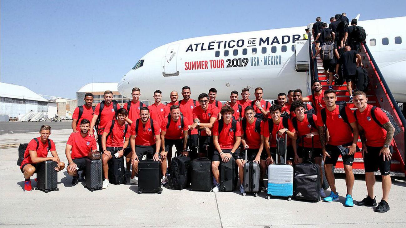 El Atlético viaja a EEUU con Correa y sin Kalinic