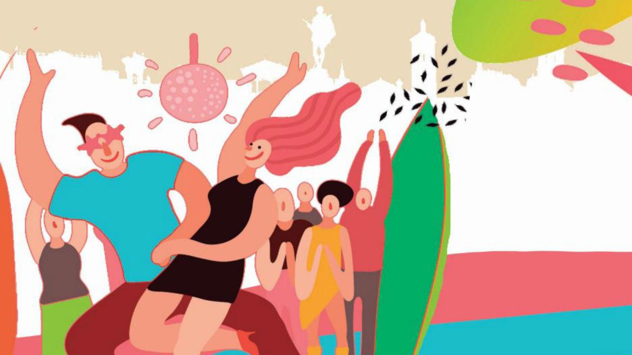 Cartel de las fiestas de los Santos Niños