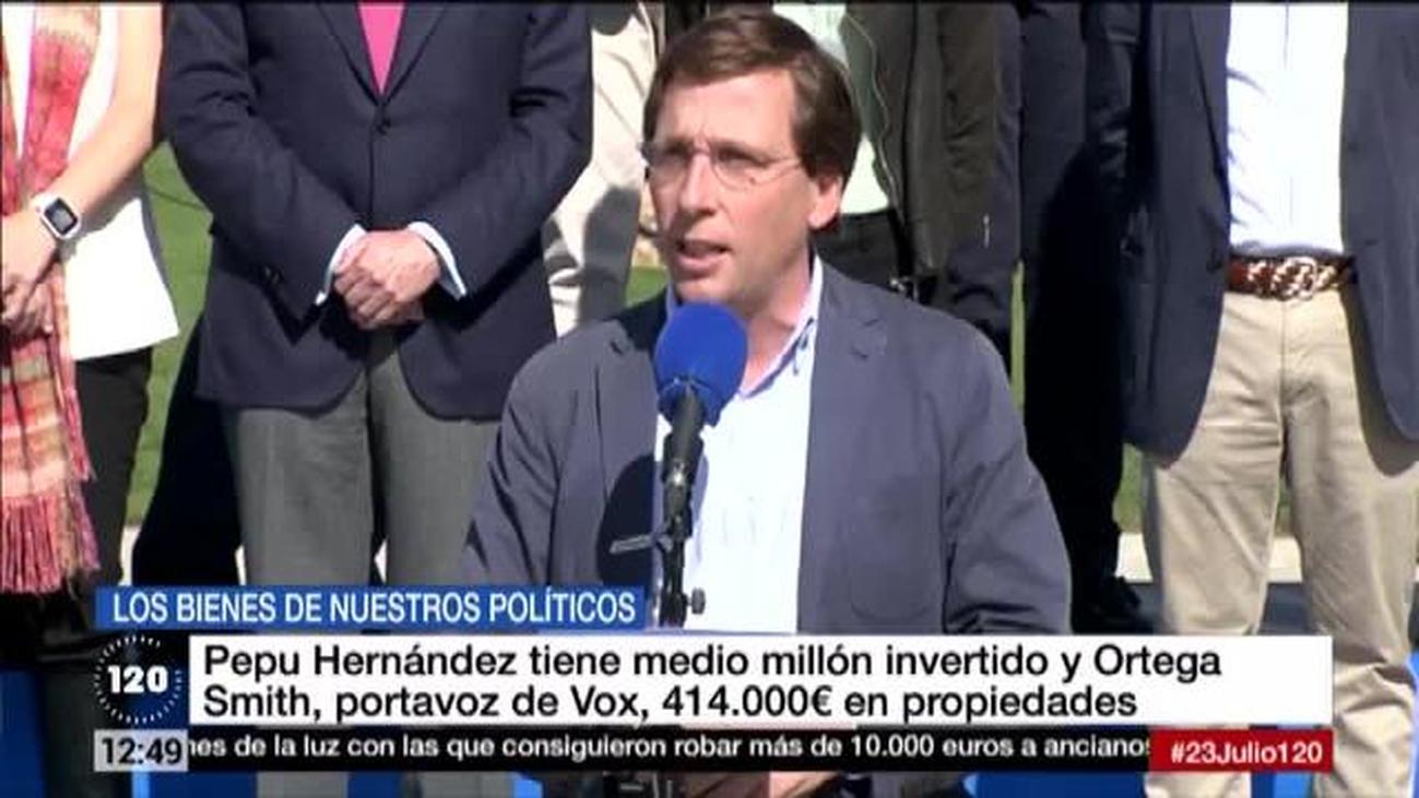 Estos son los sueldos y propiedades de los concejales del Ayuntamiento de Madrid
