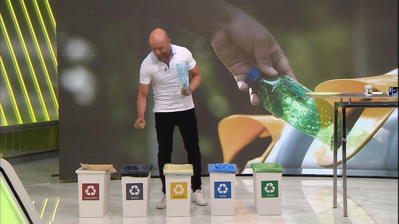 ¿Sabrías dónde reciclar estos productos?