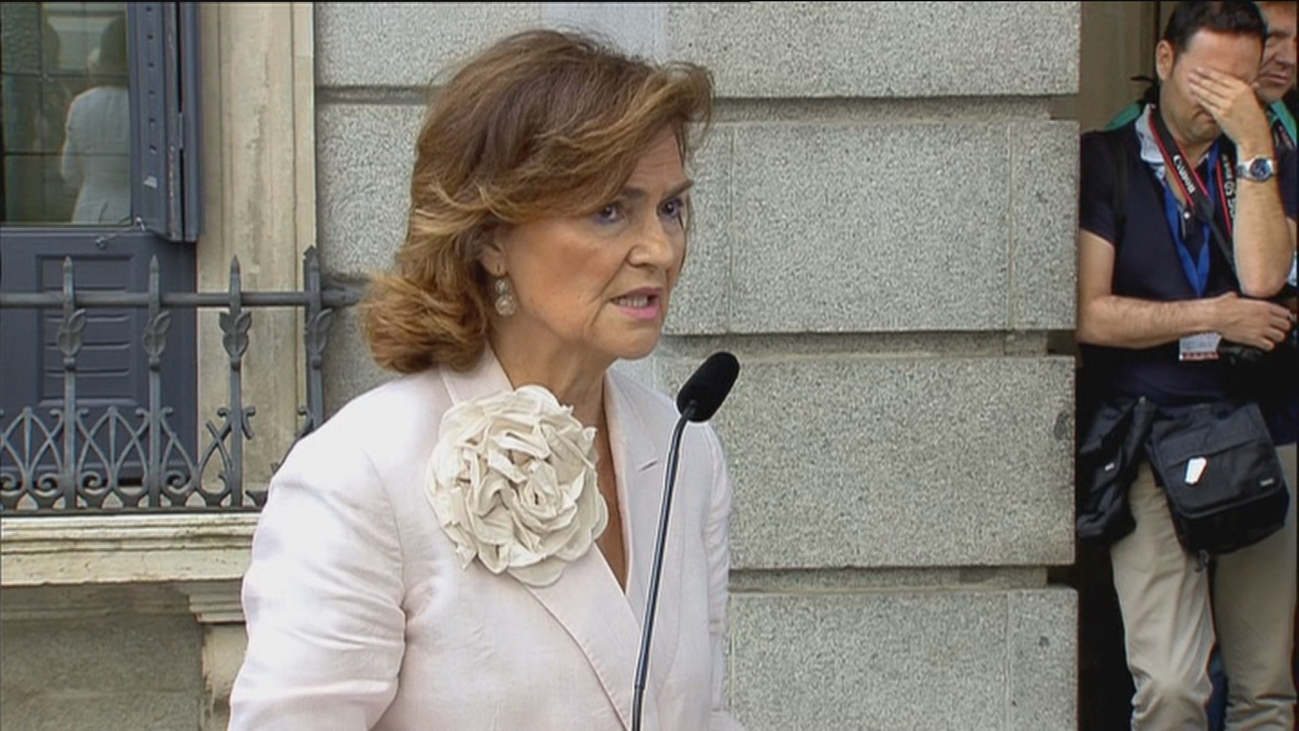 Calvo confirma que el PSOE acepta que  Irene Montero ocupe una vicepresidencia