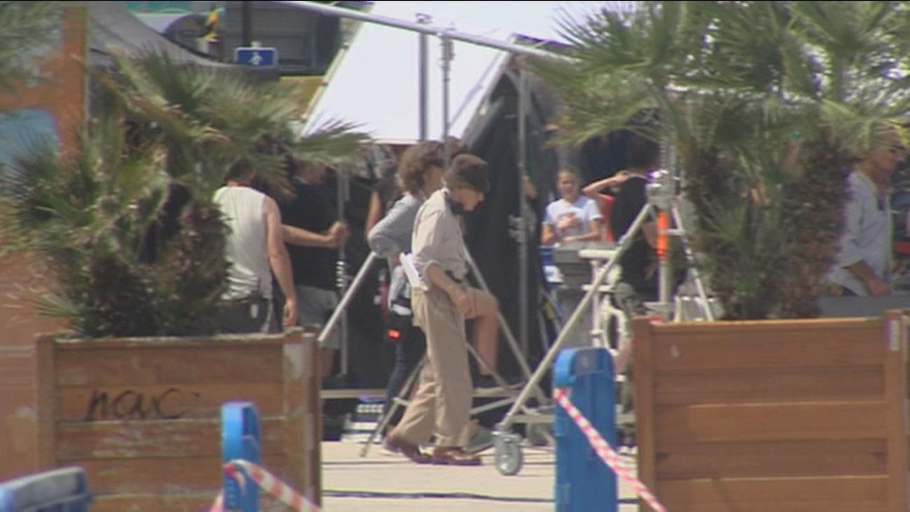 Cierran parte de la playa de la Concha por el rodaje de Woody Allen