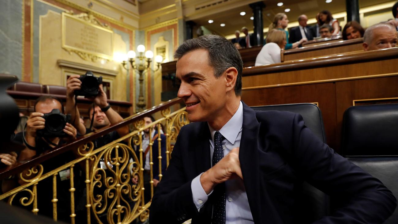 Pedro Sánchez recibe 170 votos en contra en la primera votación de su investidura