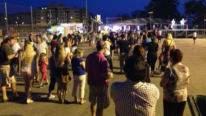 El barrio El Bercial de Getafe estrena su nuevo recinto ferial con sus fiestas
