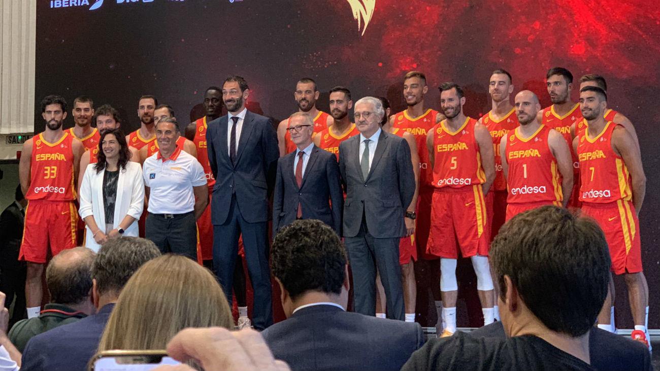 España se presenta en Madrid para preparar el Mundial de China