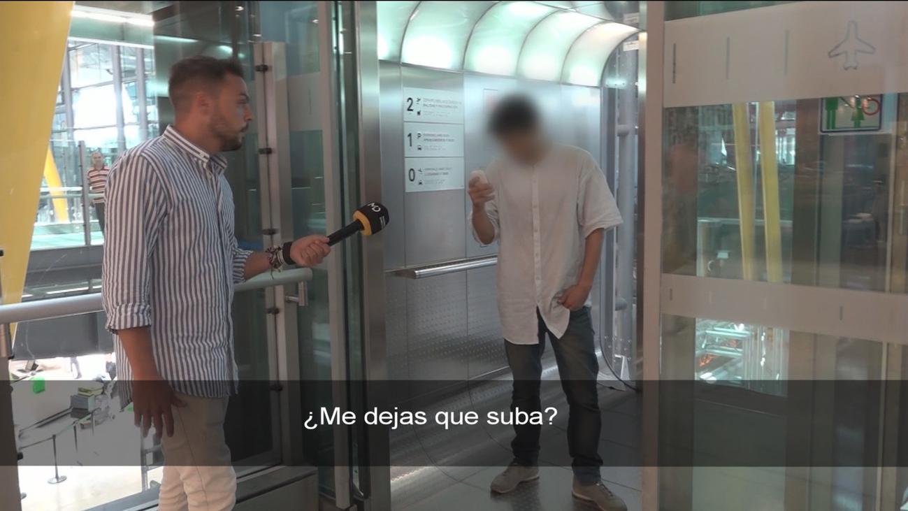 El 'estafador de Barajas' amenaza a un equipo de Madrid Directo