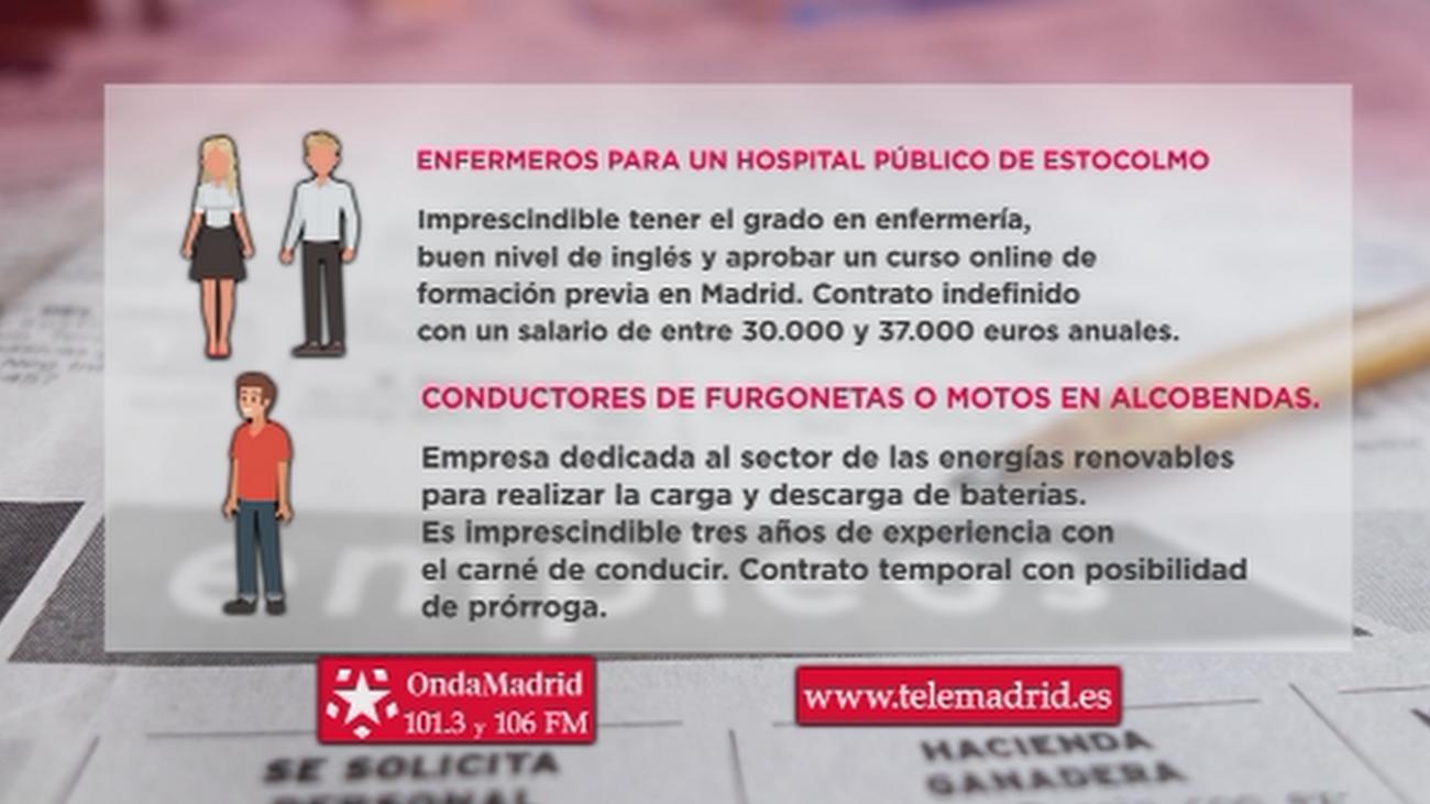 Se buscan conductores de furgonetas y motos para trabajar en Alcobendas