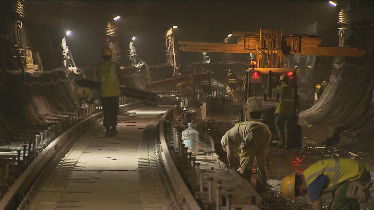 Visitamos las obras del túnel de Recoletos, que seguirá cerrado hasta noviembre