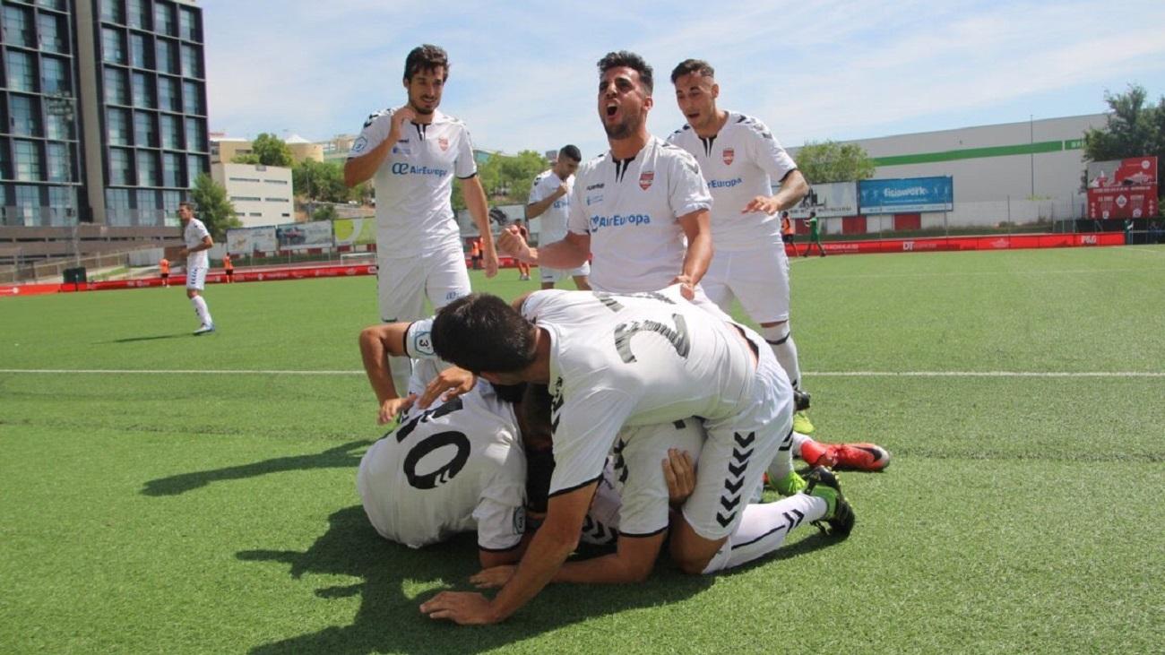 El Alcobendas Sport celebra un gol