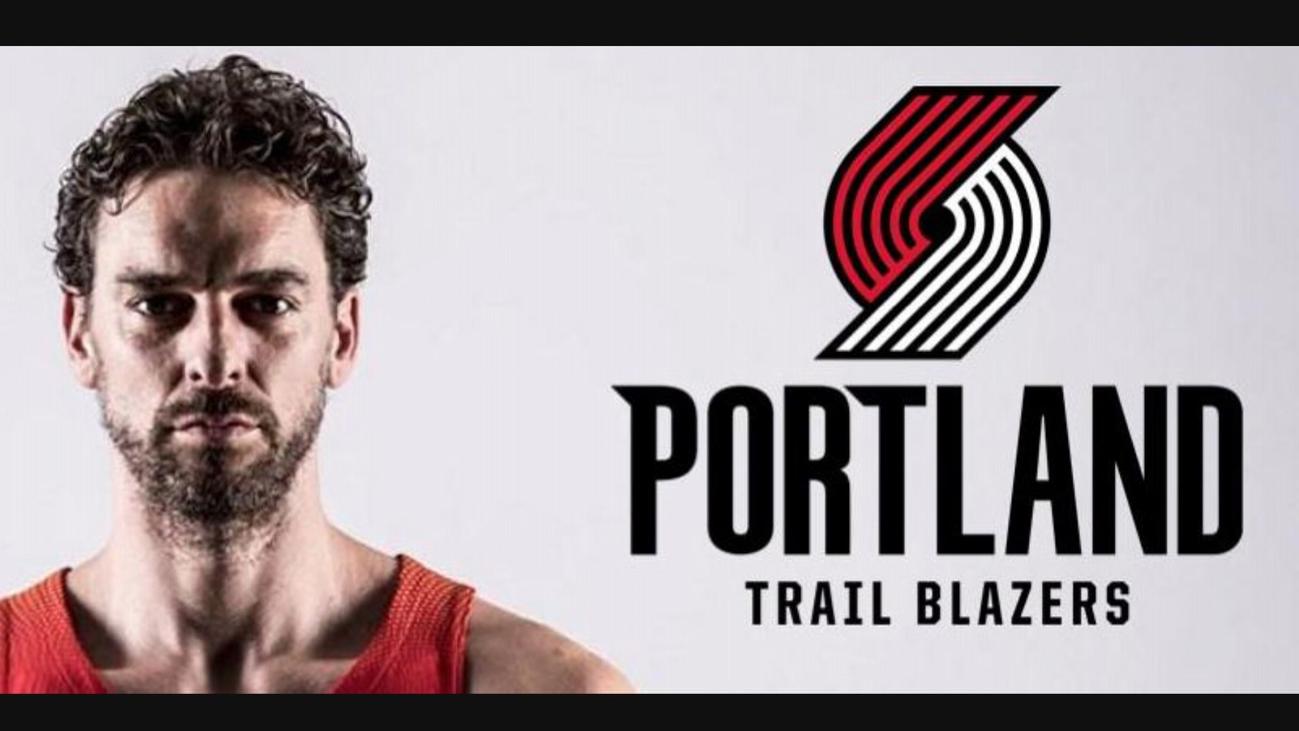 Pau Gasol jugará en Portland Trail Blazers