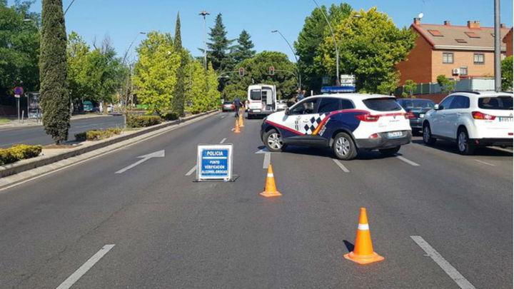 La Policía de Getafe 'caza' a cinco conductores que dan positivo por drogas