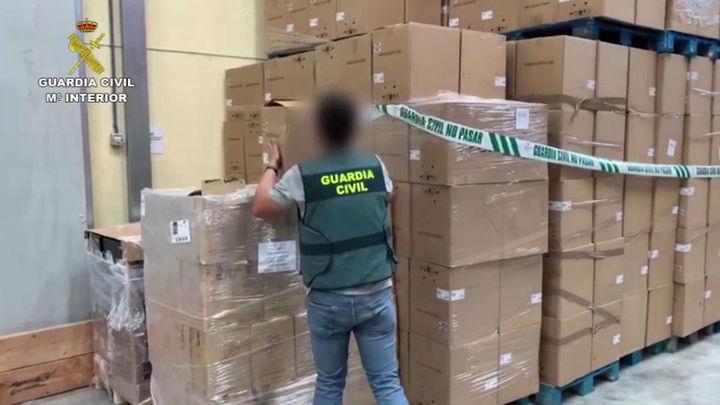 Detenidos en Daganzo dos ladrones de camiones y el empresario que compraba la mercancía