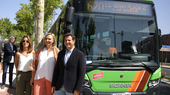 Las Rozas incrementa un 11% el número de usuarios del transporte público