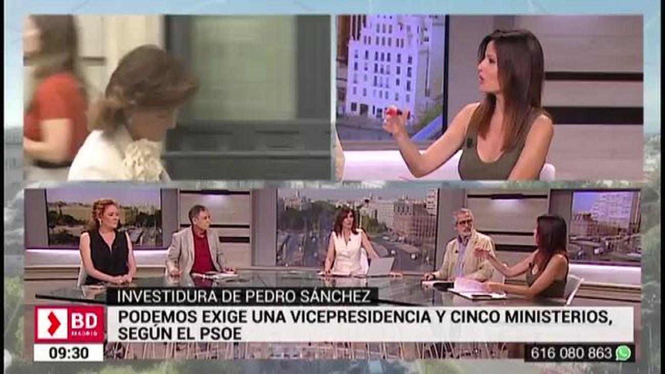 Buenos Días Madrid (8:30 - 10:30) 25.07.2019