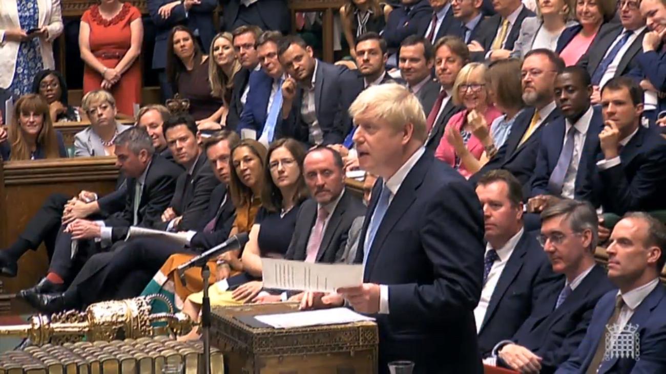 Boris Johnson, firme ante un Brexit duro, pero dispuesto a reunirse con la UE