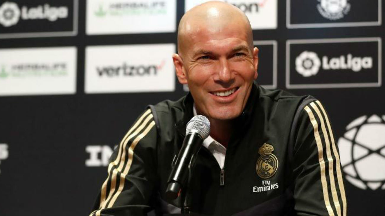 """Zidane: """"Me inquietan las lesiones"""""""