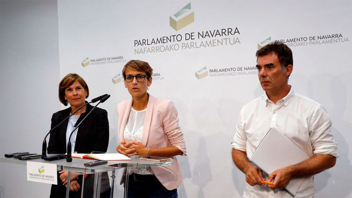 Acuerdo de gobierno en Navarra entre PSOE, Geroa Bai, Podemos y Ezkerra