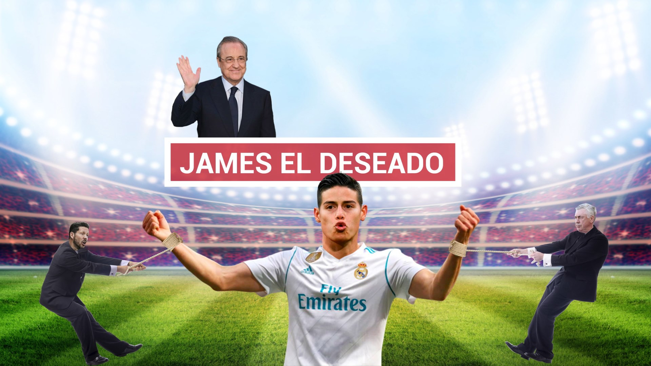 ¿Dónde acabará jugando James Rodríguez?