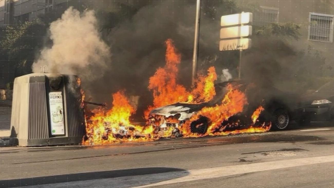 ¿Quién está detrás de la quema de contenedores en Ciudad Lineal?
