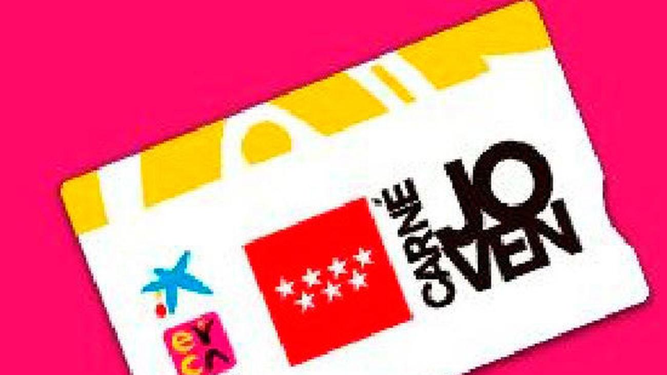 Tarjeta Carné Joven de la Comunidad de Madrid