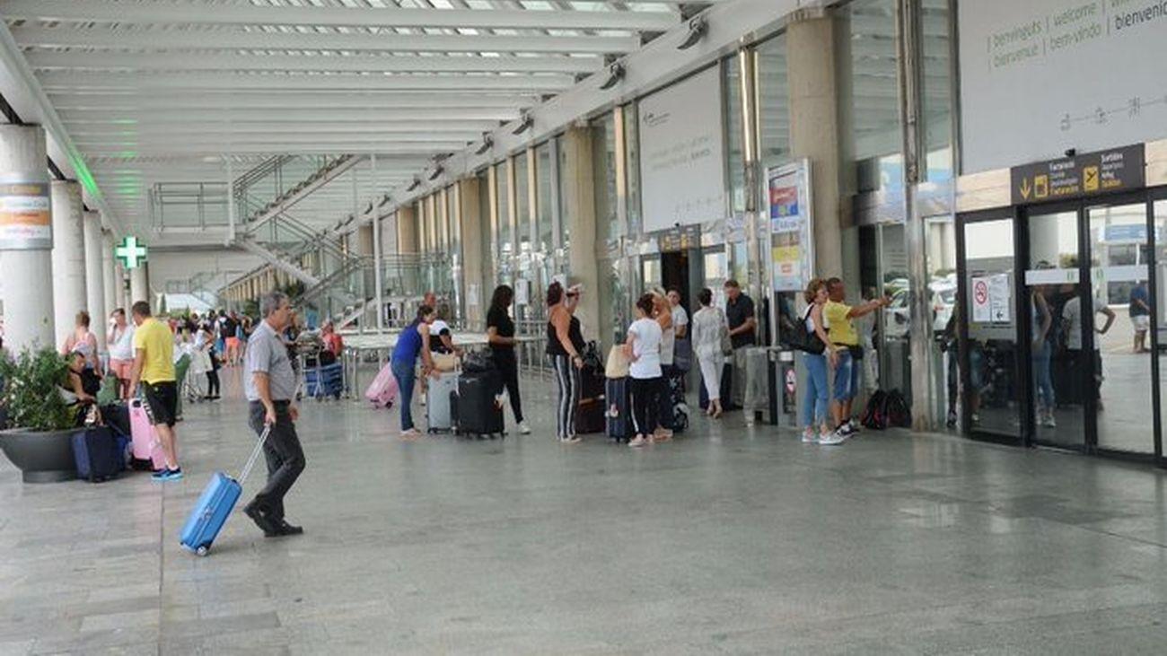 Cancelados cuatro vuelos en el Aeropuerto de Palma