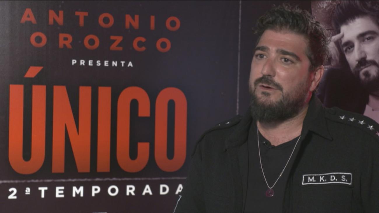 Antonio Orozco despide su gira 'Único' en el Teatro Real