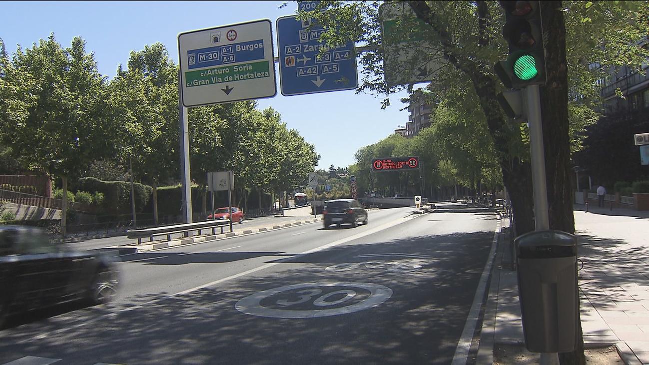 Este lunes se corta el tráfico en el túnel de Manuel Becerra