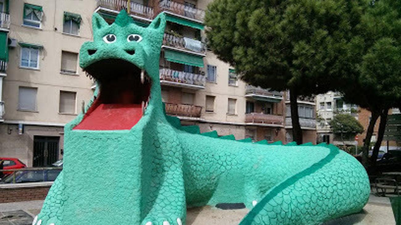 Dragón de la Elipa. Foto: Alberto Díaz