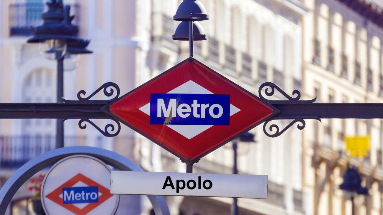 Estación de metro Apolo (fotocomposición Mr Gorsky)
