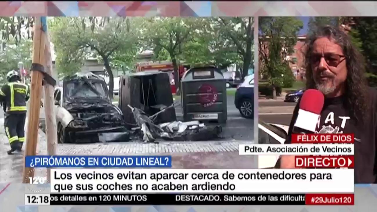 Los vecinos de Ciudad Lineal temen aparcar cerca de contenedores