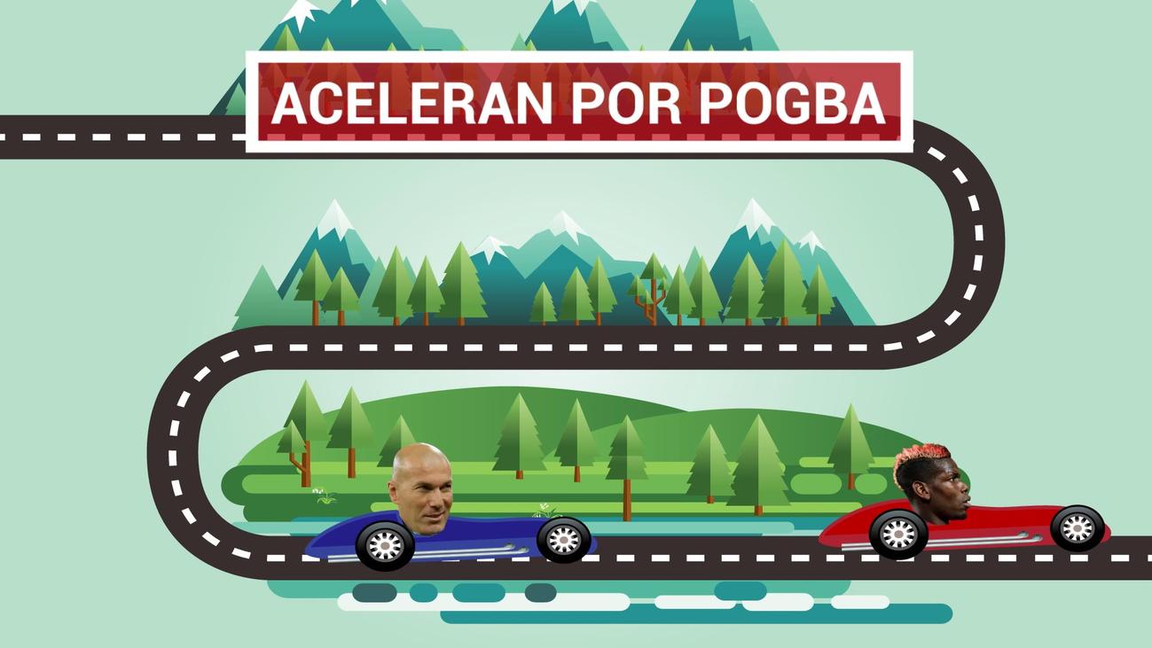 Zidane insiste en Pogba tras la debacle ante el Atleti