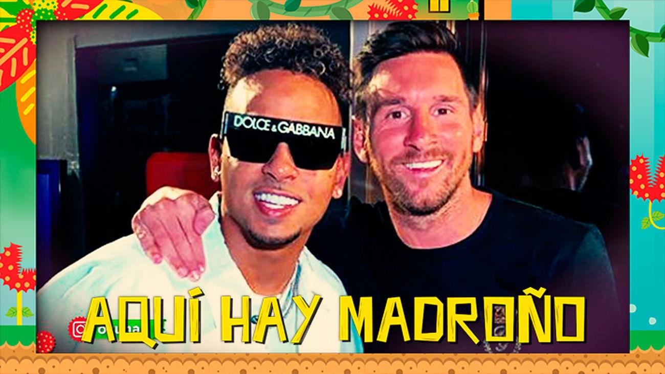 Leo Messi obligado a abandonar una discoteca