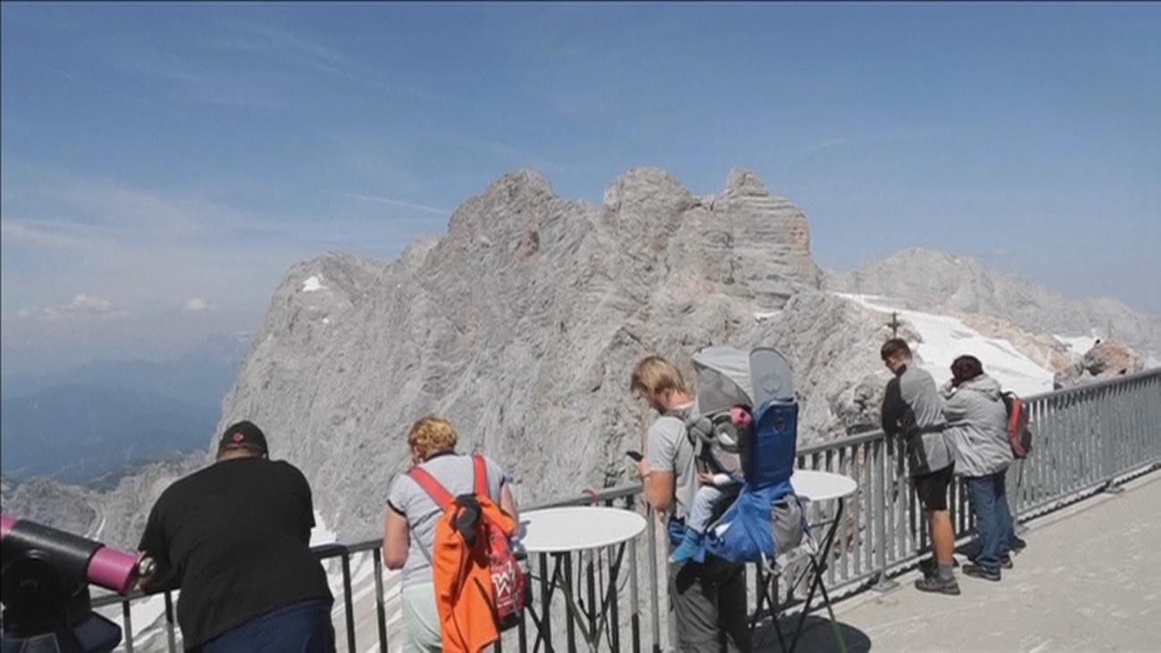 Una visita al glaciar Dachstein en Austria