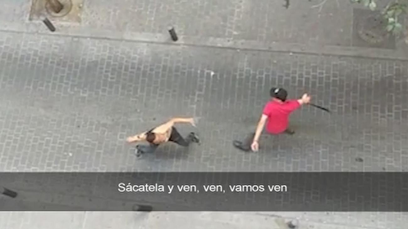 Brutal pelea a 'cinturonazos' en Tetuán