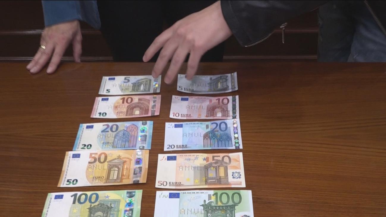 ¿Sabrías distinguir un billete falso?