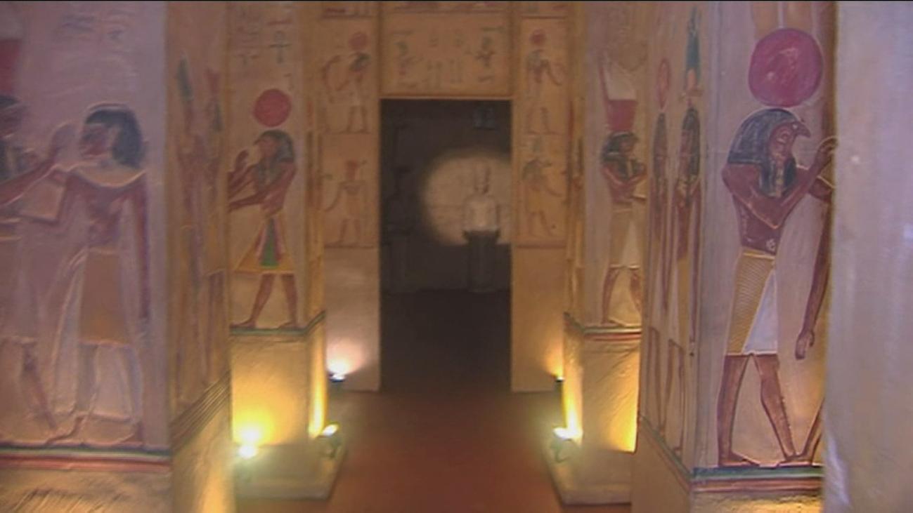 Un museo de Egipto en un garaje de Bilbao
