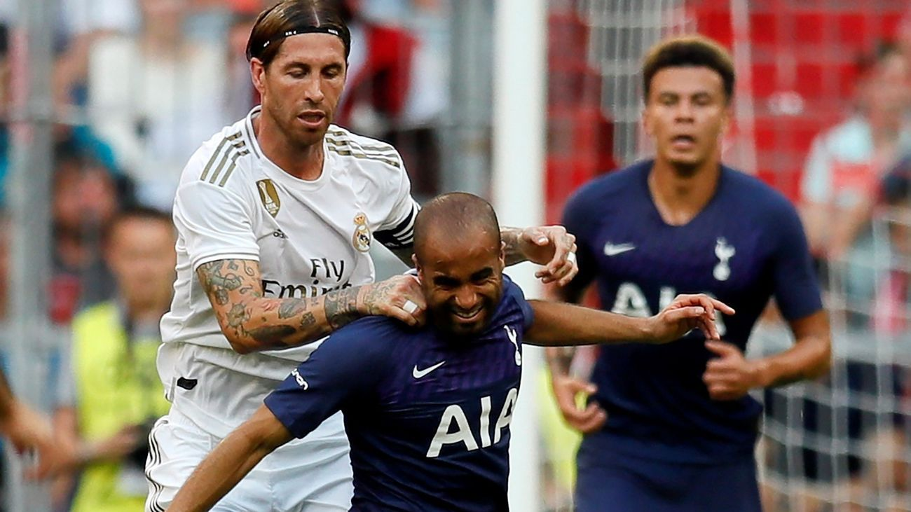 El Real Madrid pierde la semifinal de la Audi Cup contra el Tottenham 0-1