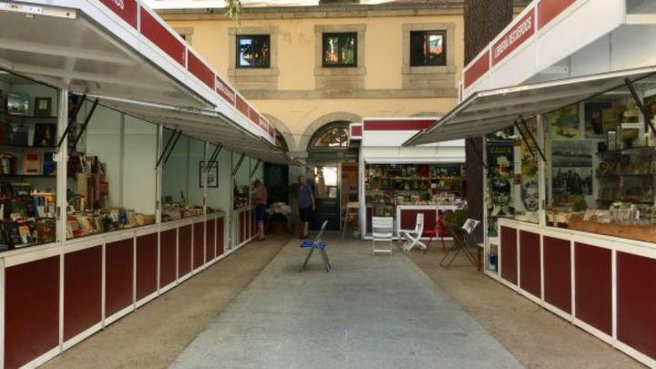 San Lorenzo de El Escorial inaugura la Feria del Libro Antiguo y de Ocasión