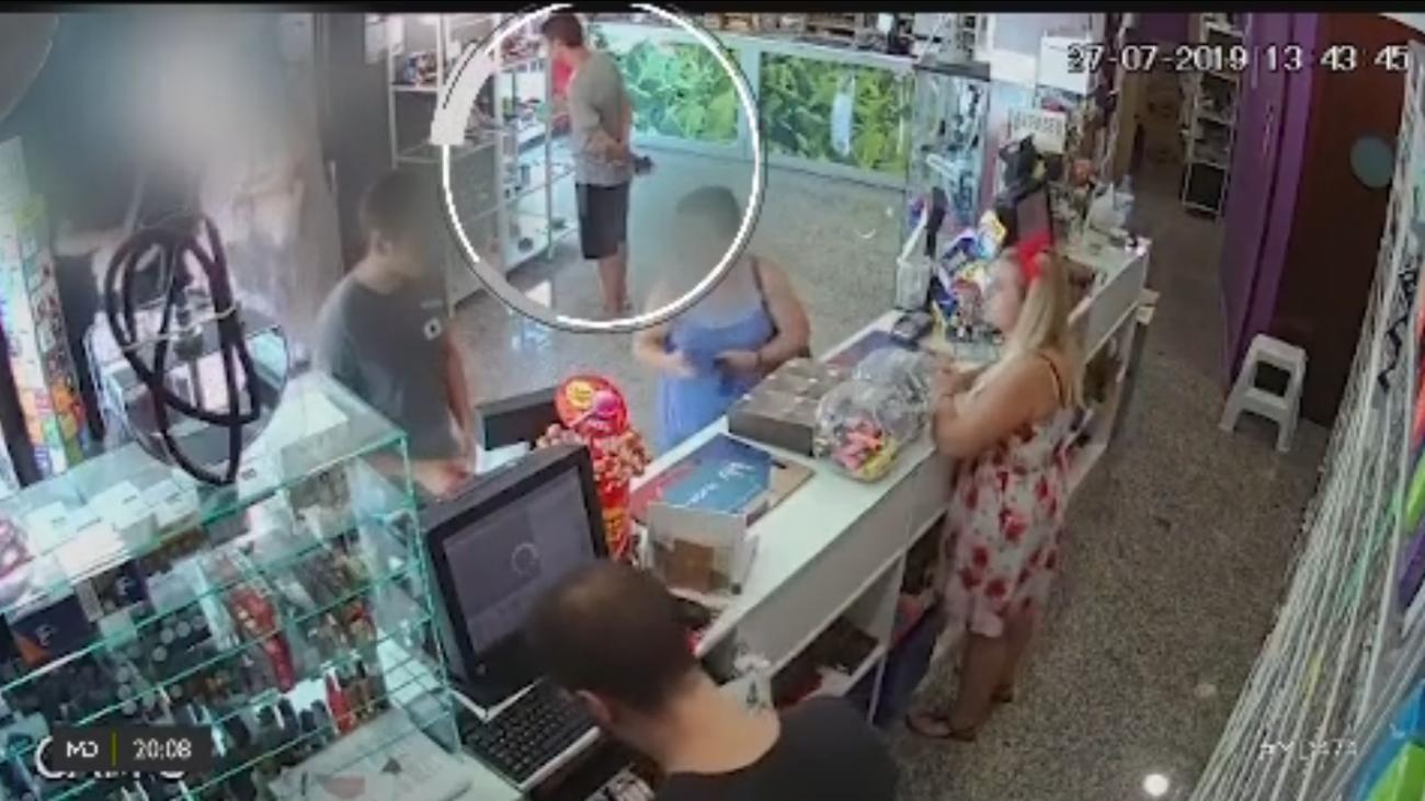 Buscan al 'ladrón de tabaco' de  Vicálvaro