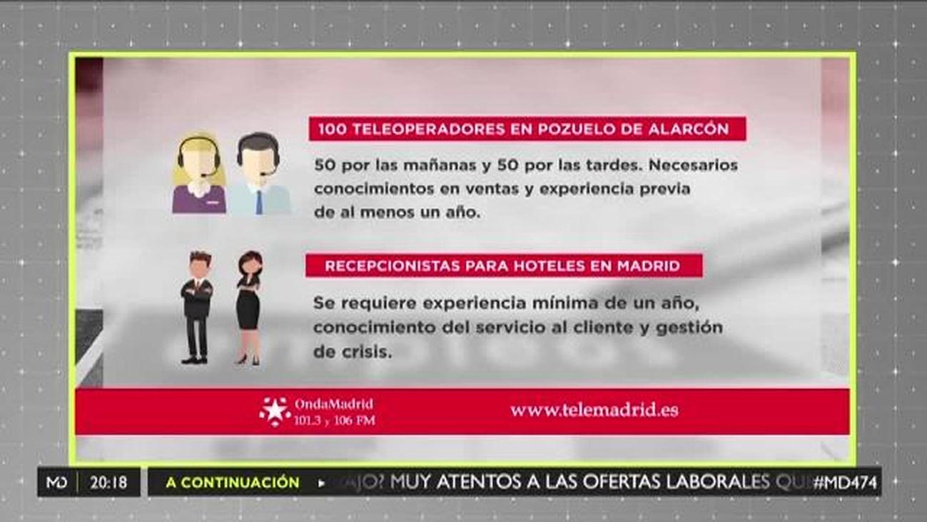 Se buscan teleoperadores para trabajar en Pozuelo de Alarcón