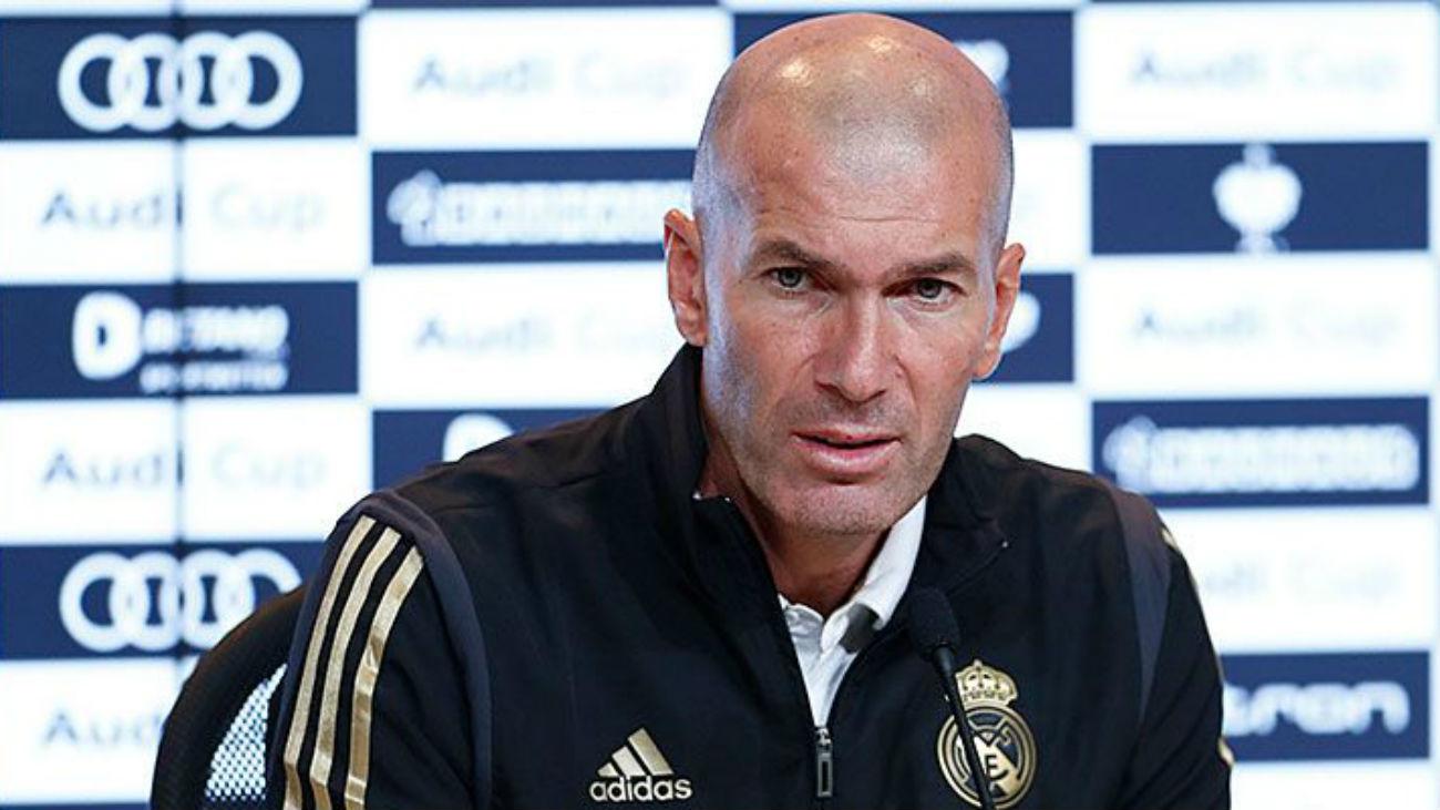 """Zidane: """"No estoy preocupado, necesitamos ganar un partido, sólo nos falta eso"""""""