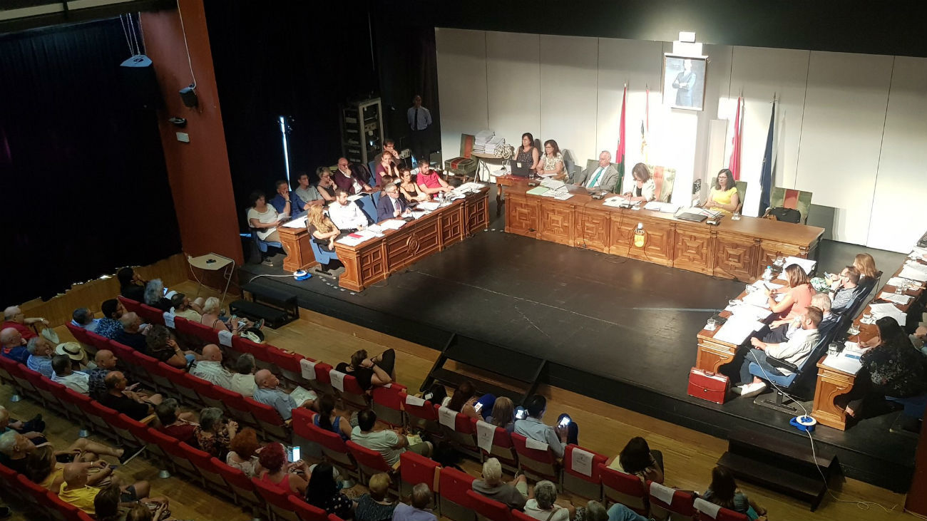 Pleno del Ayuntamiento de Alcorcón