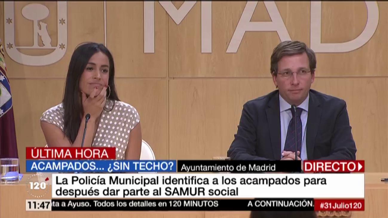 Villacís dice que entiende el enfado de los 'sin techo' y culpa al gobierno de Carmena del problema