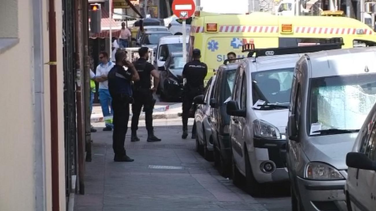 Persecución y tiroteo de película en Carabanchel